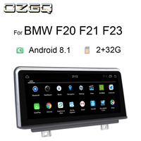 OZGQ Android 8.1 System PX6 2+32G Car GPS Navigation Autoradio Multimedia Monitor For BMW F20 F21 F23 With WIFI Idrive Control