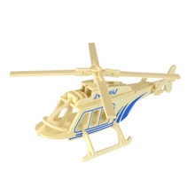 Starz 3D Wooden Helicopter Puzzles Toys Static Military Model Wood Craft Building Kits Children Gifts for Kids