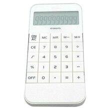 Etmakit офисный домашний калькулятор офисный Рабочий школьный калькулятор портативный карманный электронный вычисление калькулятор