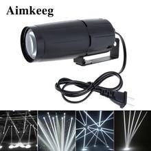 Aimkeeg White LED Spotlight Beam Super Bright Lamp Mirror Balls Stage Effect Lighting  DJ Stage Party Show Light