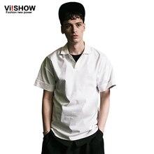 Viishow Brand Summer Style New font b Polo b font Shirt font b Men b font