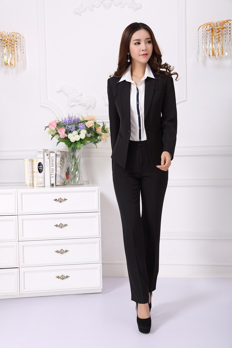 New Style 2014 Spring Autumn Formal Blazer Women Business Suits ...
