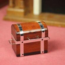 G06-X712 children baby gift Toy 1:12 Dollhouse mini Furniture Miniature rement Mahogany box1 set