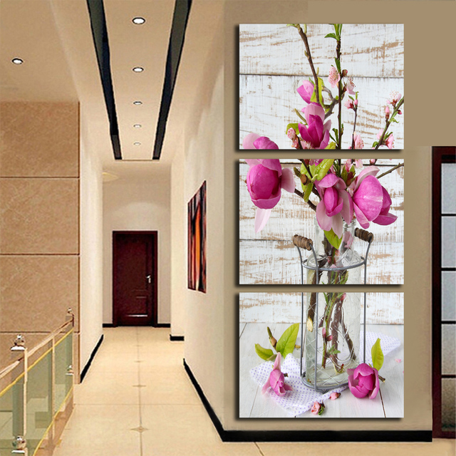 Selling Unframed Canvas Painting Paints Printed Wall Hanging SPA ...