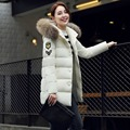 New 2016 winter jacket women Long Casual Fashion Women Parka Female Hooded Coat Parka Plus Size Cold Warm outwear   JN802