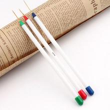 New Arrival 3PCS Nail Art Design Set Dotting Painting Drawing Brush Pen