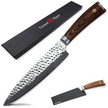 Professional Chef Knives Japanese vg10 Damascus Chef Knife 67 layers Japanese Damascus Kitchen Knives Cooking Tools Gift Box NEW(China)