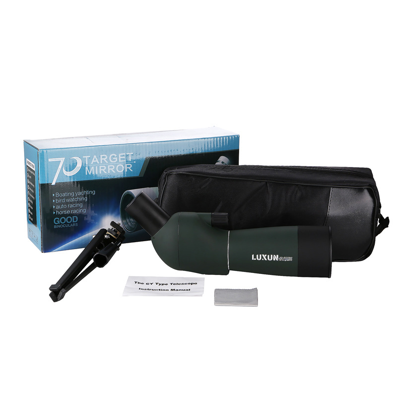 20 60x60 Spotting Scope Zoom Monocular Birdwatch Universal Phone Adapter Mount Waterproof Telescope Hunting in Monocular Binoculars from Sports Entertainment