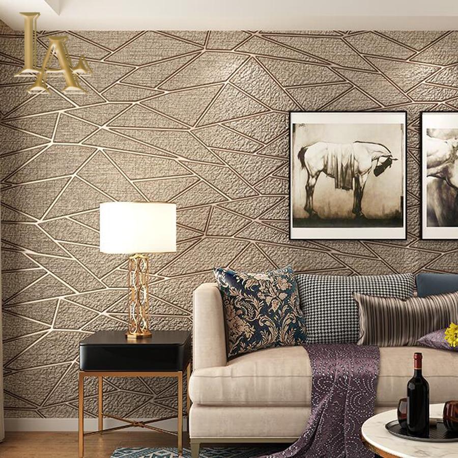 P O P Fall Ceiling Wallpaper Aliexpress Com Buy High Quality Thick Flocked Modern