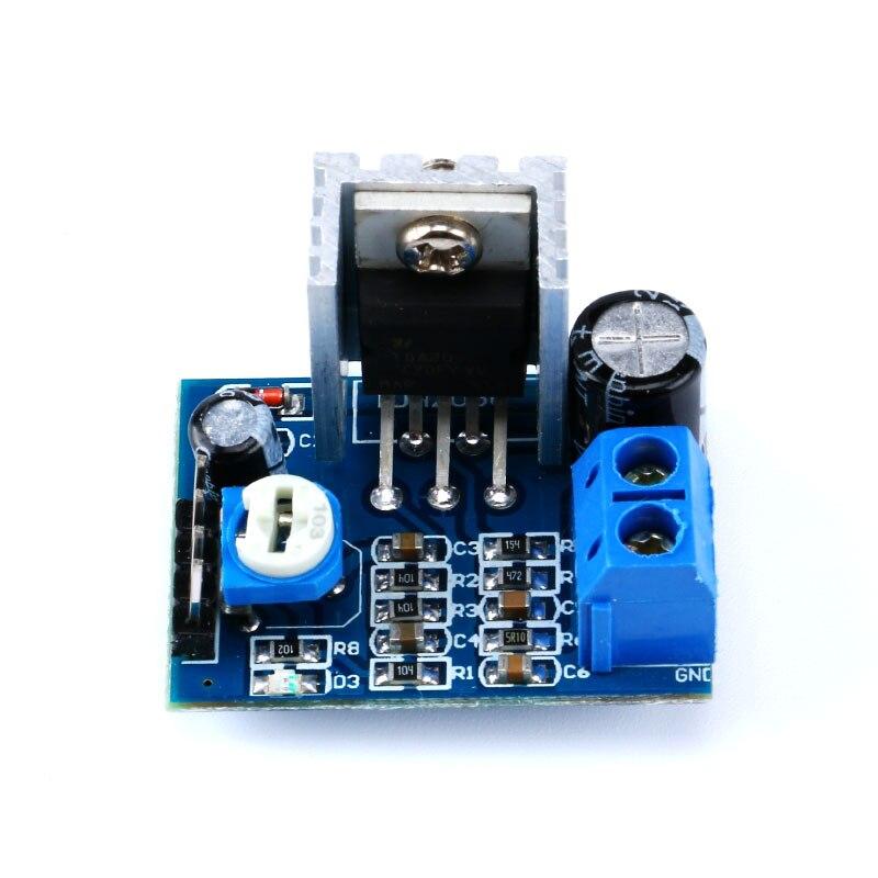Ecloud Shop/® 6-12V Power Supply 18W TDA2030A adjustable Audio Amplifier Board Module