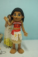 New Mascot Costume of Girl Customize For 1.6m To 1.85m Mascot Costume for Halloween/as Birthdays Gift