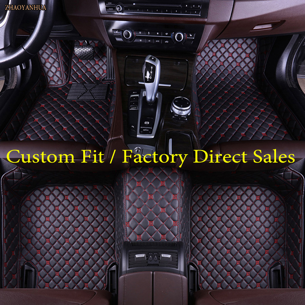 ZHAOYANHUA  car floor mats for Audi Q7 SUV 5D ZHAOYANHUAized waterproof anti skid foot case car-styling rugs carpet liners(2006-ZHAOYANHUA  car floor mats for Audi Q7 SUV 5D ZHAOYANHUAized waterproof anti skid foot case car-styling rugs carpet liners(2006-