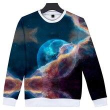 LUCKYFRIDAYF Fashion Suicide Squad K-pop 3D Starry sky Sweatshirt Capless Hoodies Women/Men Clothes Print Plus Size 4XL