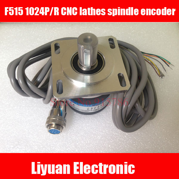 1pcs F515 CNC Lathes Spindle Encoder / Spindle Encoder 1024 Pulse / DC5V Rotary Encoder