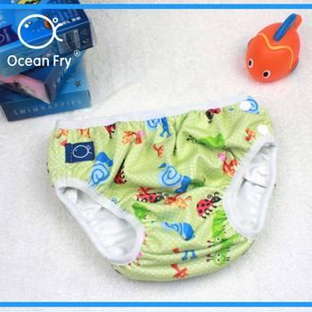 1884ddd6a Bebé a prueba de fugas pañal nadar pantalones de bebé recién nacido traje de  niño infantil impermeable regalo niño niña de natación pañales venta al por  ...