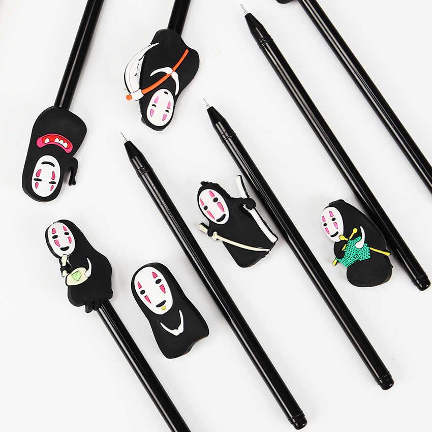 1 шт. Унесенные призраками фигурку нет уход за кожей лица человек 8 различных выражений модель гелевые ручки для детей студентов обувь