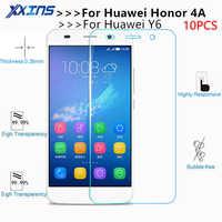 10 pz lot Vetro Temperato Per Huawei Honor 4A SCL-TL00 Y6 2 compact Protezione Dello Schermo Temperato copertura protettiva 5 pollice cristalli