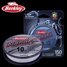 Original Berkley Brand NanoFil 150yd 137m Fishing Line Clear Mist Uni-Filament Zero-Memory