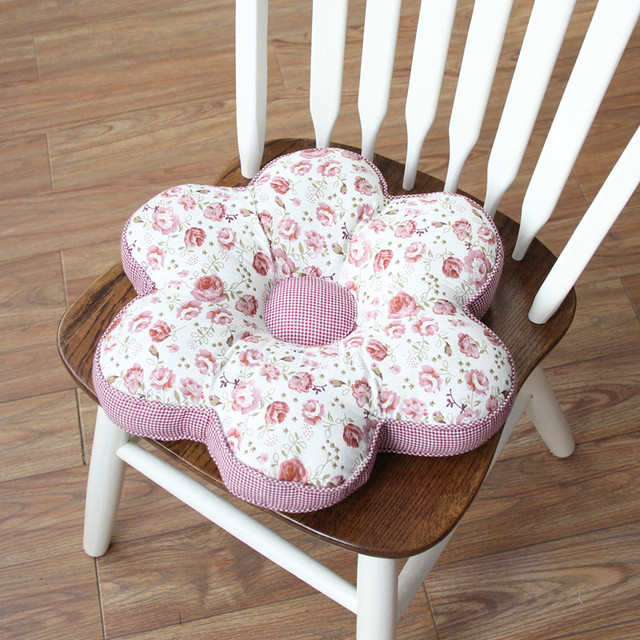 2016 pastoral style flower shape home office seat chair back cushions car sofa seat pad indoor buy shape home office