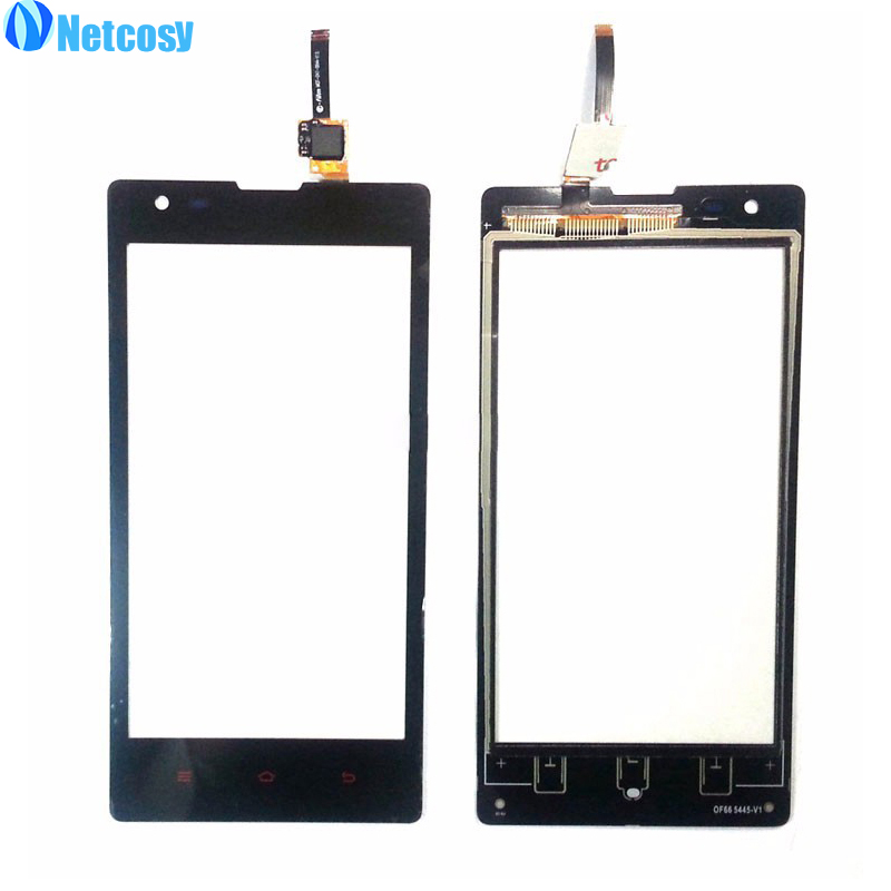 Netcosy Touch Panel Touchscreen For Xiaomi Redmi Hongmi 1 1S Touch Screen Digitizer Front Glass Sensor replacement parts