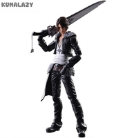 Play Arts Final Fantasy Figure Final Fantasy VII Squall Leonhart Figure PA Play Arts Kai 27cm PVC Action Figure Doll Toys