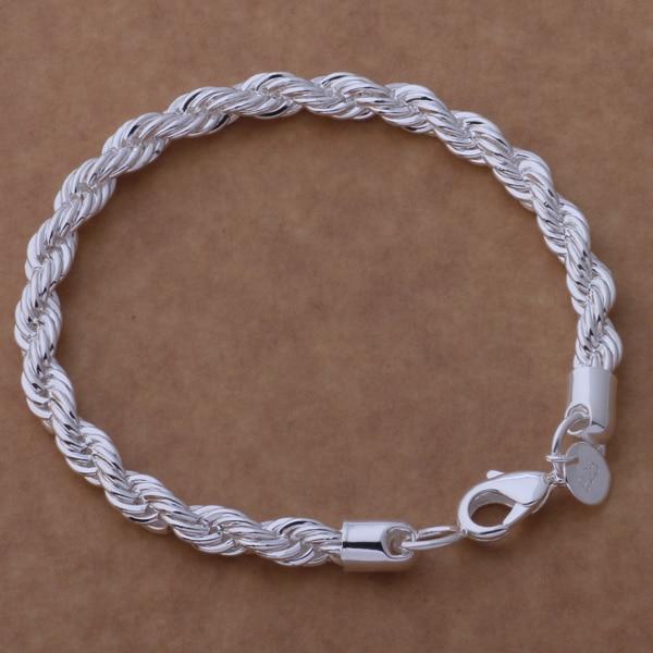 AH254 Karšta 925 sidabrinė apyrankė, 925 sidabrinė juvelyrinių - Mados papuošalai