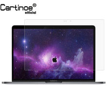 Cartinoe 15 Inch 16:9 Laptop Screen Protector untuk Apple MacBook Pro 15 2016 2018 A1990/A1707 Touch Bar Penjaga film 2 Pcs(China)