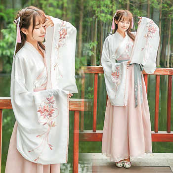 New Arrive Women Chinese Hanfu Costume Chinese Folk Ancient Costume Vintage Orient Tang Dynesty Cosplay Costume - DISCOUNT ITEM  48% OFF All Category