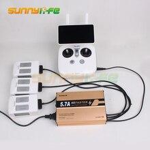 SunnyLife Батарея параллельно зарядки концентратора пульт дистанционного управления Зарядное устройство для DJI Phantom 4/4 Pro/4 Pro + дроны multi Зарядное устройство