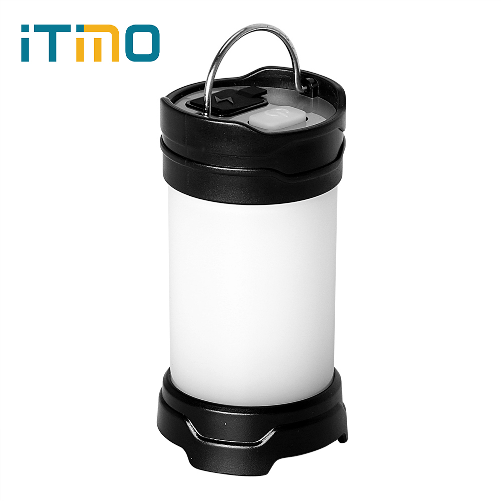 ITimo Super Bright Flash Power Bank Portable Light Outdoor Camping Lamp USB Rechargeable Battery LED Tent