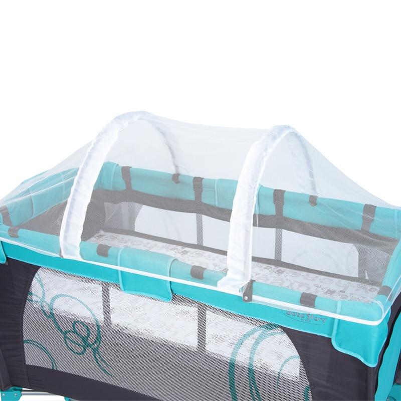Baby Crib Anti-Insect Mosquitoes Wasps Flies Play Bed Folding Crib Netting Child Baby Mosquito Nets Crib Netting
