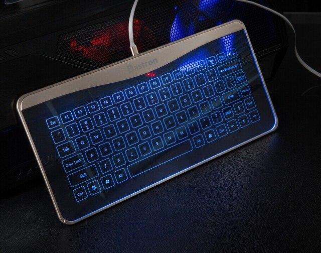 Bastron Touch Glas Tastatur Draht Touch Maus Desktop Geste tastatur ...