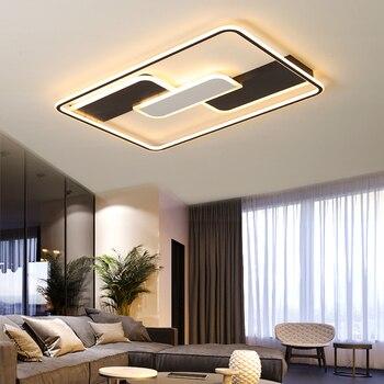 Lustres LEVARAM Retângulo Criativo Quarto Lâmpada lustre de Sala de estar Sduty Quarto Cozinha moderna Iluminação lustre lustre Para Casa