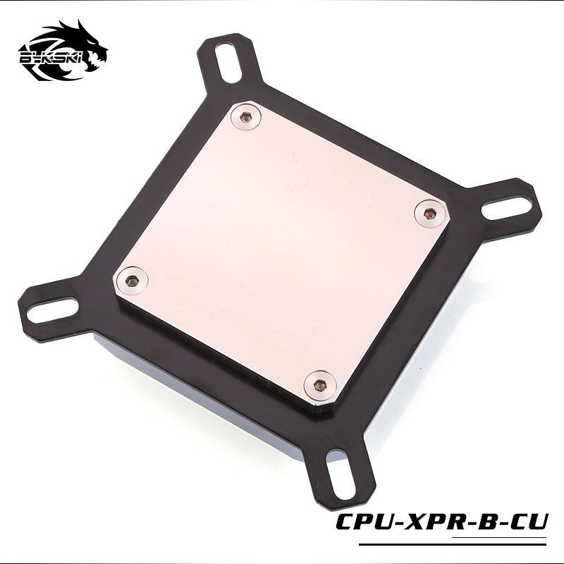 Bykski CPU refroidissement par eau bloc de radiateur utilisation pour INTEL LGA1150 1151 1155 1156/2011/2066 radiateur entièrement refroidi par bloc de métal - 3