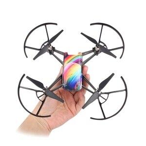 Image 3 - Adesivos de desenhos animados para drone dji tello, 3 peças adesivos coloridos para peças de reposição rc acessório