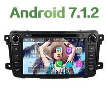 2GB RAM 8 Android 7 1 2 Car DVD Multimedia Radio Player DAB SWC for Mazda