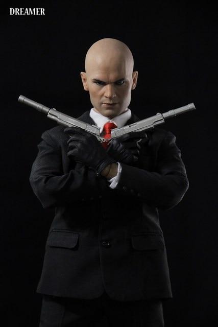 Dreamer 1/6 Hitman Agent 47 Action Figure Set
