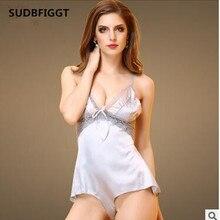 Новинка, сексуальное женское обтягивающее нижнее белье высокого качества, популярная одежда для сна, женские мини-платья, интимные слипы, Кружевные слипы
