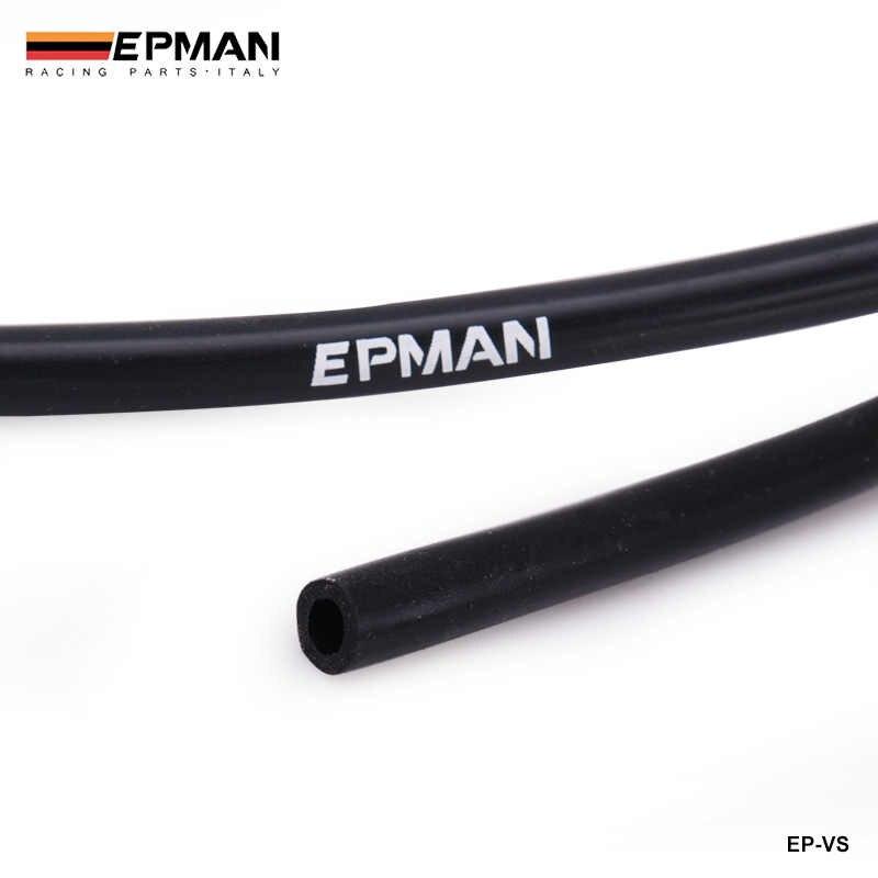 """黒 id: 3 ミリメートル (1/8 """") シリコンバキュームホースパイプ · 高性能 Tubing-1meter bmw E36 325 328 M3 hfm S52 EP-VS-3-1M"""