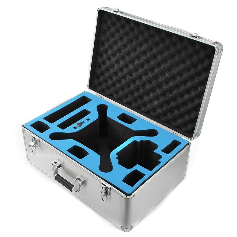 DJI Phantom 4 Pro FPV Camera Drone Silver Realacc All Aluminum Portable Hardshell Suitcase Carrying Box Suit Case Bag