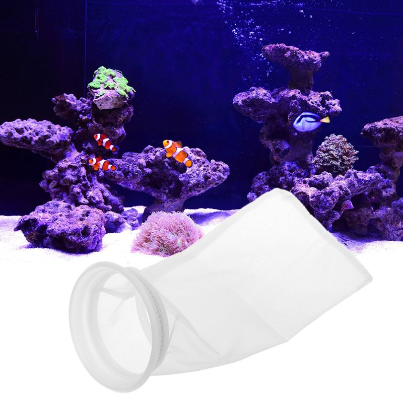 10CM New Nylon Filter Sump Sock Micron Bag Weight Aquarium Filters Socks Bag