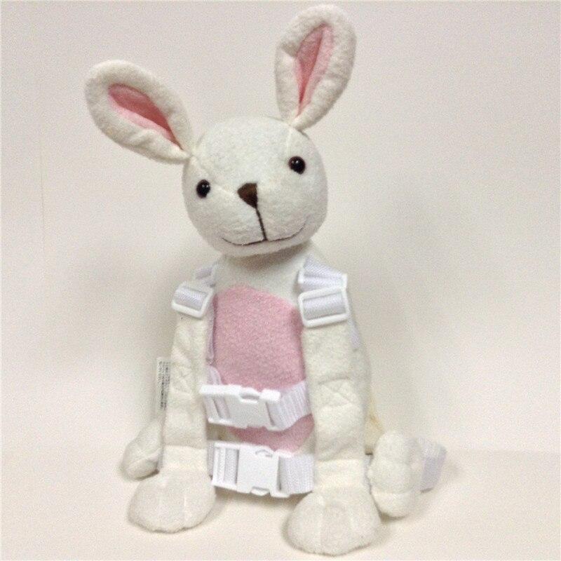 Приятель для того, чтобы держать 2-в-1 Детские накладной Рюкзак Детские поводья для От 1 до 3 лет вокруг - Цвет: Rabbit