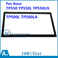 For Asus TP550 TP550L TP550LN TP500L TP500LA Version TOP15I97 V1.0 FP TPAY15611A 01X 15.6 Touch Digitizer Screen Glass