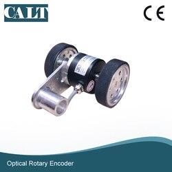 CALT GHW52 series enkoder optyczny do pomiaru długości tkaniny z 2 kołami (obwód 200mm)
