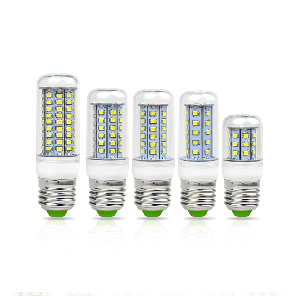 220v e27 e14 2835 smd 30 48 56 69 89 102 126 led corn bulb price more lower than 5730 smd Led light bulb cost
