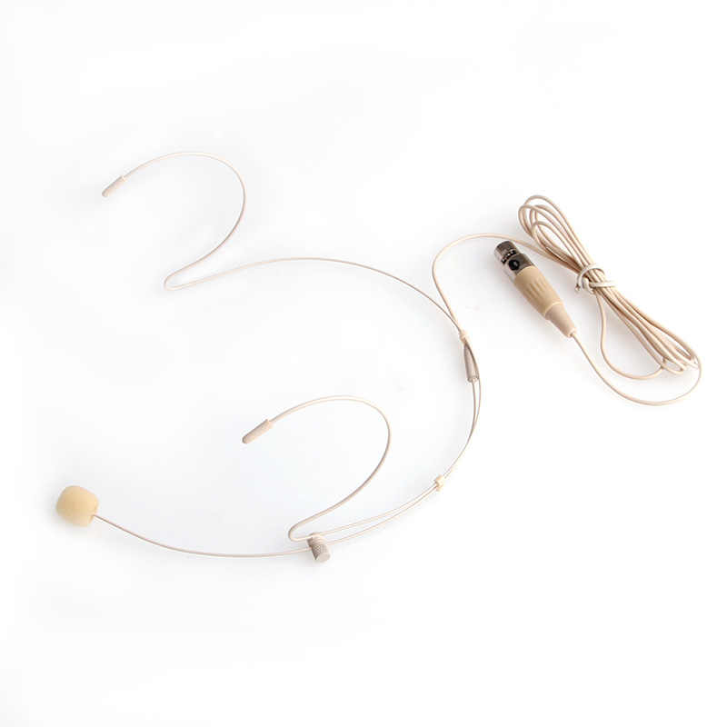 Nieuwe Pro Dual Oorhaak Mic Headset Head Microfoon Voor Shure ALLE XLR 3PIN TA3F Nieuwe