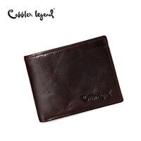 Cobbler Legend Famous Brand Genuine Leather Men Wallets Handmade Men S Wallet Male Money Purses Coins