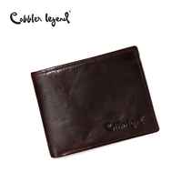 Cobbler Legend Famous Brand Genuine Leather Men Wallets Handmade Men S Wallet Male Money Purses Coins