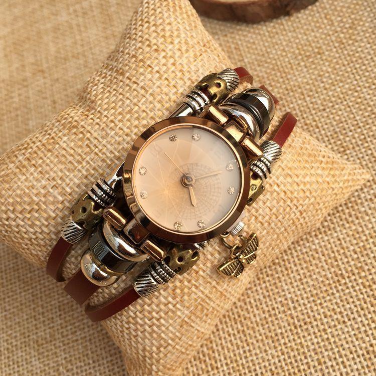 Nieuwe mode dameshorloges Volledig handgemaakte horloge diamant - Dameshorloges - Foto 5