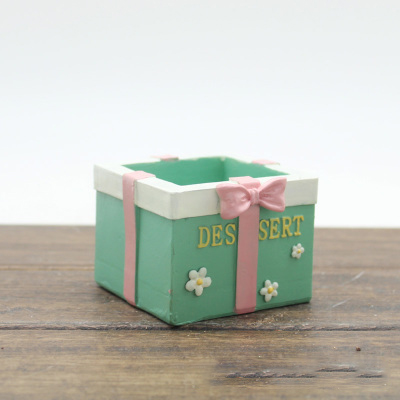 PRZY Silikagelový silikonový secí stroj na plísně Krásný dárkový box květináče muti-masové květináče formy 3d vázy formy ručně vyráběné formy